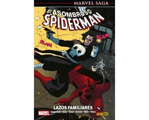 marvel saga asombroso spiderman 18 lazos de familia
