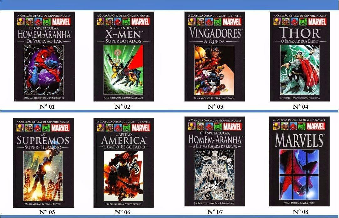 64368085e Marvel Salvat Capa Preta - Os Heróis + Poderosos Da Marvel - R$ 35 ...