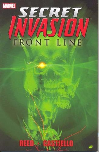 marvel secret invasion - front line - volume 1
