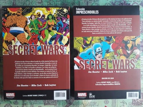 marvel:  secret wars  (editorial ovni press)