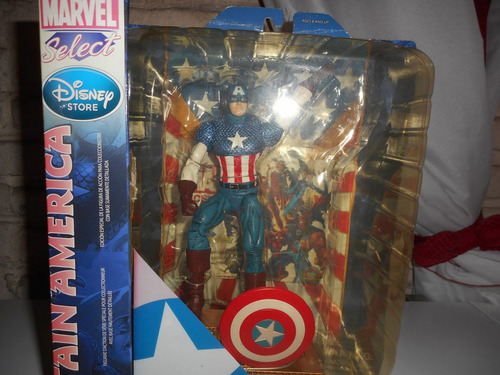 marvel select  capitan america
