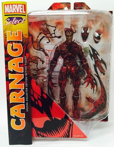 marvel select carnage figura de acción