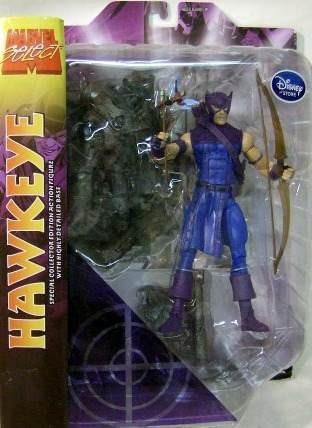 marvel select exclusive hawkeye ojo de halcon avengers