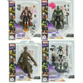 Marvel Select Guardiões Da Galáxia 5 Figuras - Disney Store