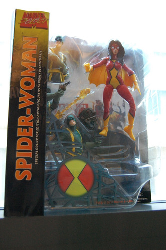 marvel select - spider woman (mulher aranha)