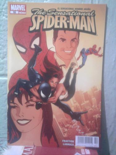 marvel sensational spiderman tomo 10 hombre araña