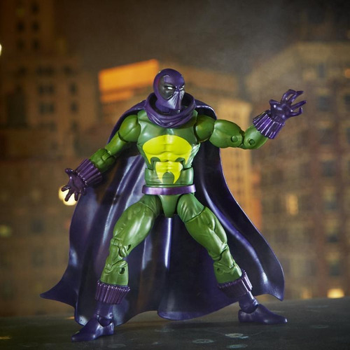 marvel spider-man legends prowler figura 6 pulgadas