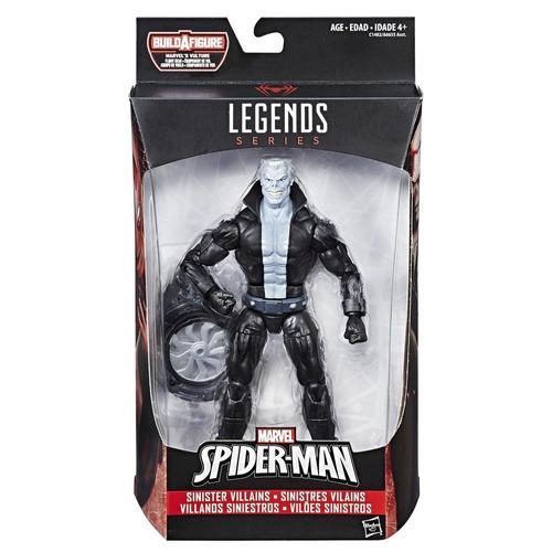marvel spider-man legends tombstone figura 6 pulgadas