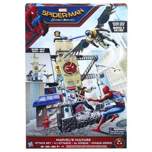 marvel spider-man vulture set de ataque