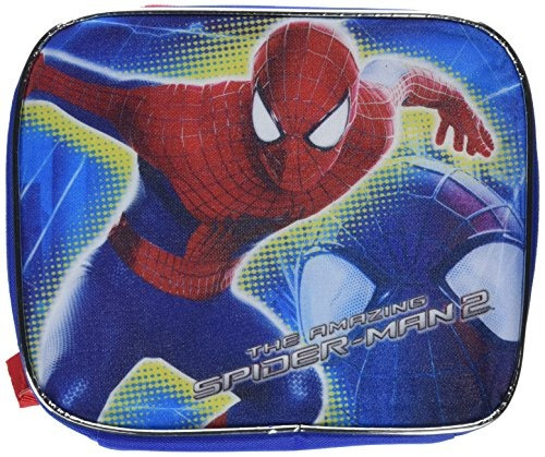 marvel spiderman almuerzo kit, azul