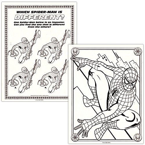 950 Coloring Book Spiderman Free