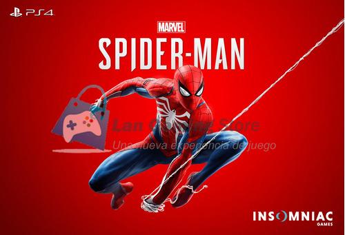 marvel spiderman playstation 4 ps4 español + poster