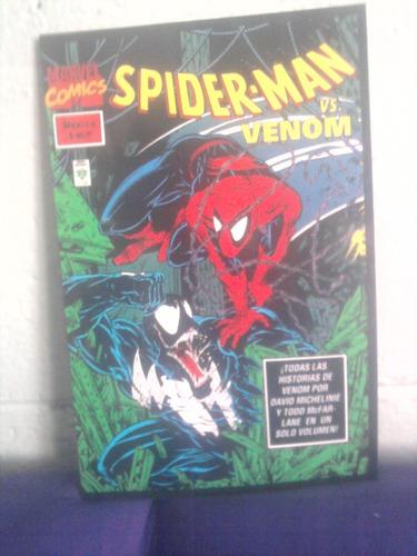 marvel spiderman vs venom lo mejor tomo unico hombre araña