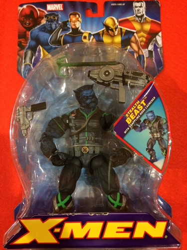 marvel stealth beast bestia toy biz serie x-men