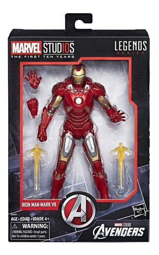 marvel studios -legends series the first ten years iron man