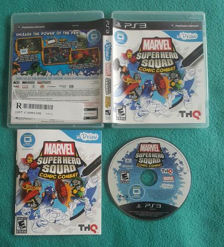 marvel super hero squad - comic combat / playstation 3 ps3