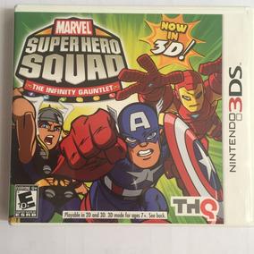 Marvel Super Hero Squad The Infinity Gauntlet 3 Ds