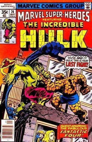 marvel super heroes no. 74