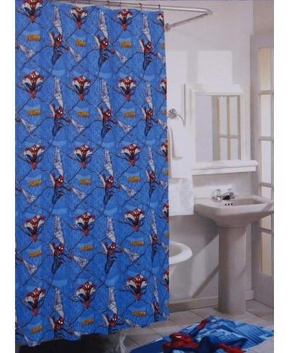 marvel the amazing spider-man shower curtain
