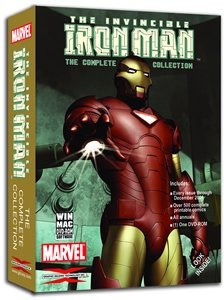 marvel the invincible iron man colección completa de dvdrom
