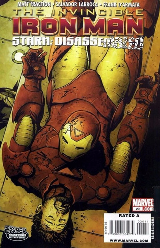 marvel the invincible iron man - volume 20