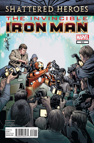 marvel the invincible iron man - volume 510