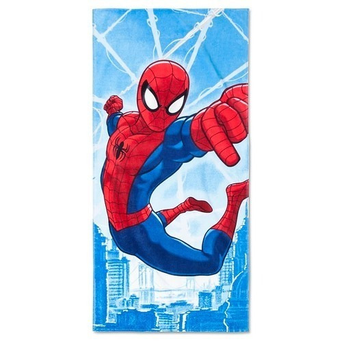 marvel - toalla de playa ultimate spiderman