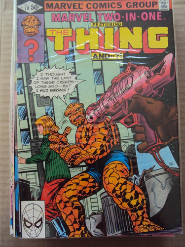 marvel two-in-one # 70 - coisa - importada
