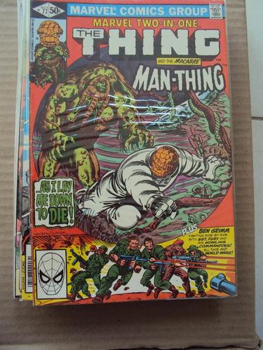 marvel two-in-one # 77 - coisa e homem-coisa importada