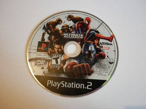 marvel ultimate aliance para play station 2