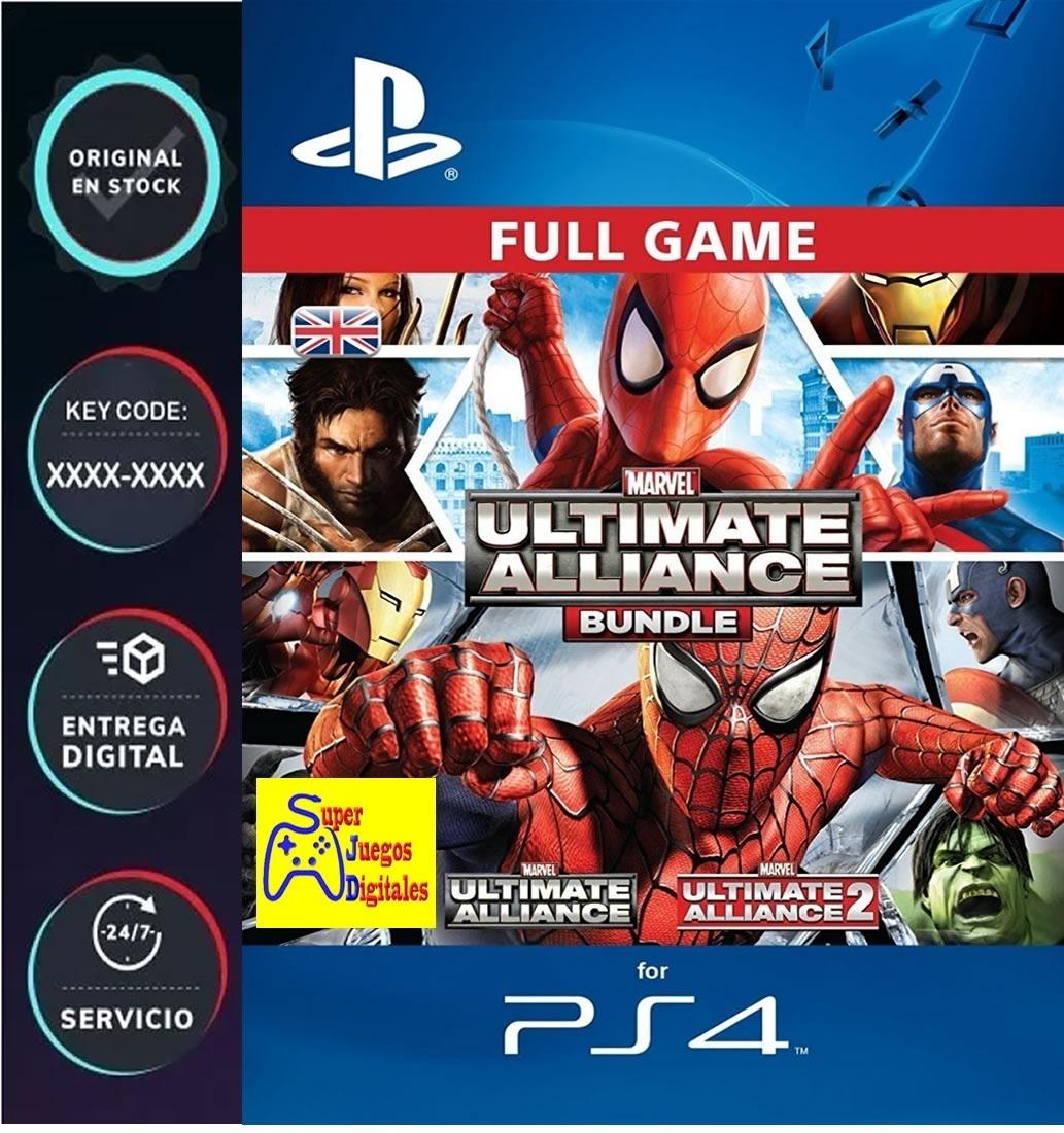 Marvel: Ultimate Alliance Bundle - Ps4 Codigo Digital Play4