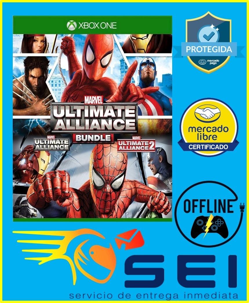 Marvel Ultimate Alliance Bundle Xbox One Offline - $ 29 00
