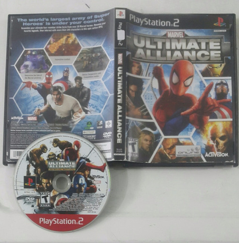 marvel ultimate alliance / playstation 2 ps2