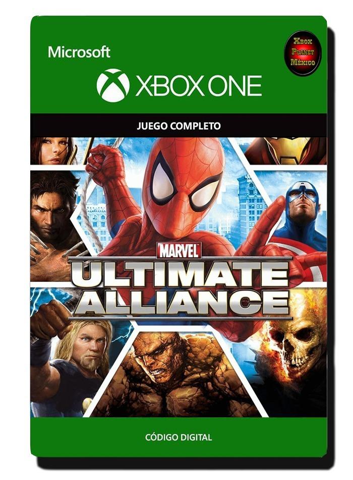 Marvel Ultimate Alliance - Xbox One - Codigo Descargable