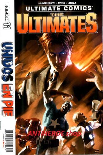 marvel ultimates comics the ultimates edicion 11