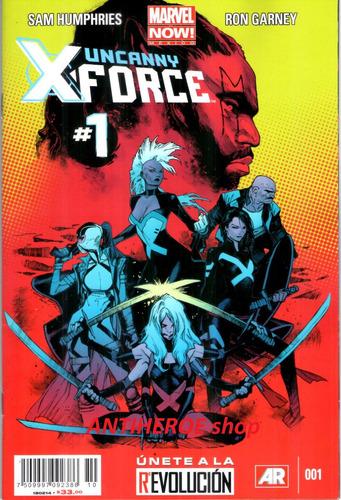 marvel uncanny x-force #1 marvel now marvel mexico