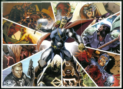 marvel universe 2011 set base