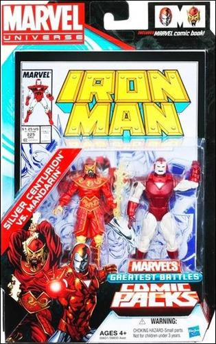 marvel universe greatest battles mandarin & iron man