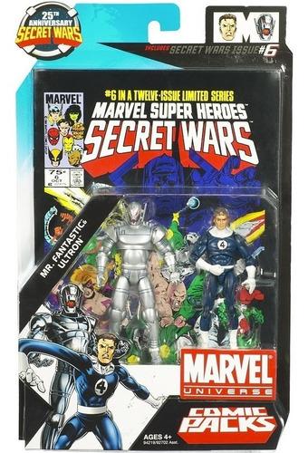 marvel universe: secrets wars #6 ultron and mr. fantastic