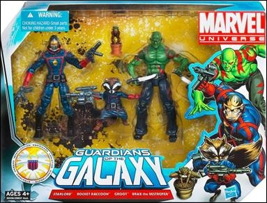 marvel universe team pack guardians of the galaxy