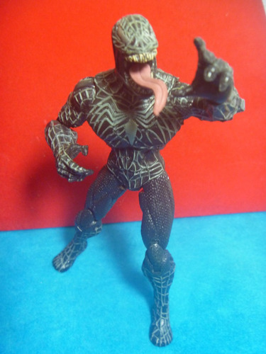 marvel universe venom web capture attack spiderman 3