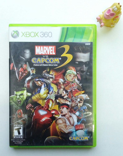 marvel vs capcom 3 fate of two worlds xbox 360 :)