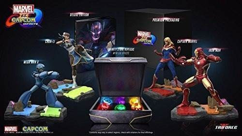 marvel vs. capcom: infinite collector's edition - playstatio