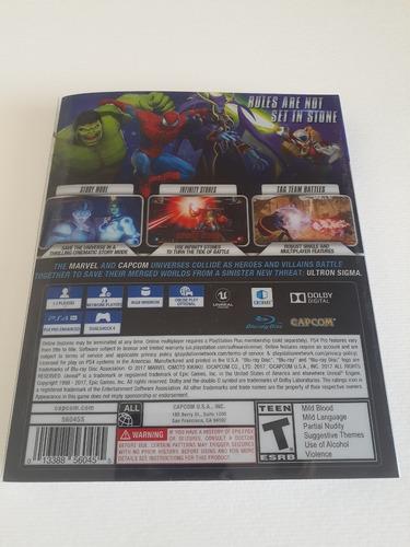 marvel vs capcom: infinite deluxe steelbook edition nuevo