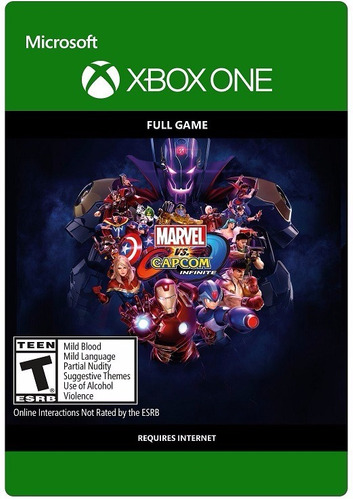 marvel vs capcom infinite / ms store (xbox one)