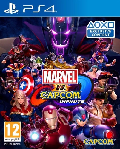 marvel vs capcom infinite / ps store (playstation 4)