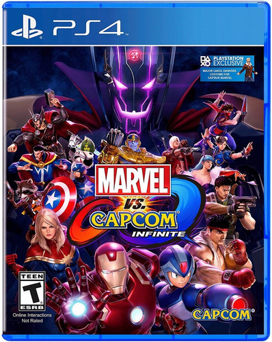 marvel vs capcom infinite ps4 - físico - sellado - nextgames