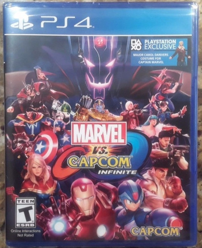 marvel vs capcom infinite ps4 playstation sellado garantia