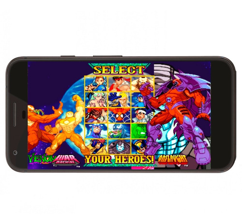 marvel vs capcom neo geo + regalo para android