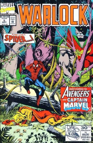 marvel warlock -  limited series - volume 5
